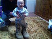 JJ in Combat Boots